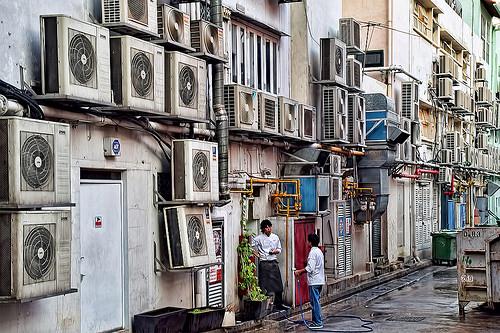 Overflowing HVACs